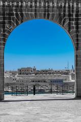 Fenster in Valletta