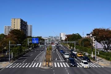 Street of Edogawa, Tokyo, Japan