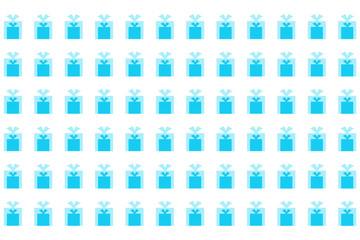 ギフトボックスのラッピングペーパー【グラフィック】