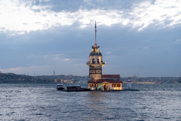 Maiden's Tower in Istanbul Bosphorus