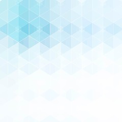 Vector abstract geometric background.Design element.Form a blue hexagon. eps 10