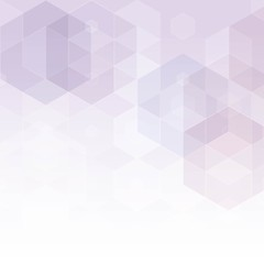 Template for business advertising, design, interior decoration. Textiles, fashion, science, medicine. Image in polygonal style. Easy background image. Light Purple vector pattern with colorful