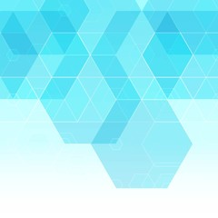 Vector Abstract hexagonal background.layout for advertising. eps 10