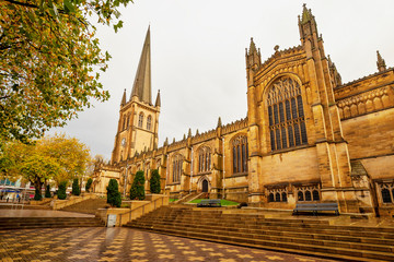 Wakefield Cathedral. West Yorkshire.Great Britain. Fototapete