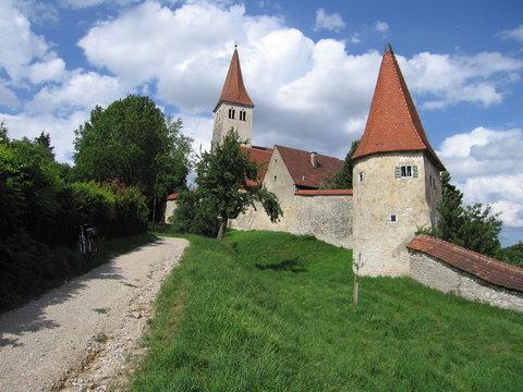 Mittelalterliche Stadtmauer Greding