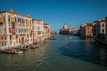Image of picturesque chanels of Venice, Italy
