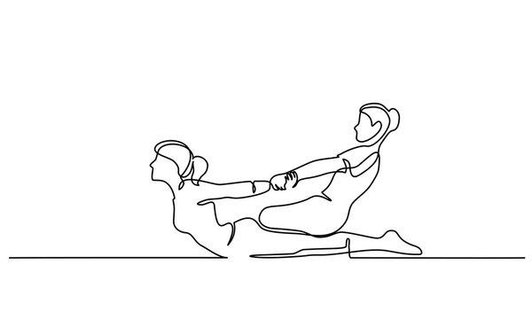 Thai massage for man in spa salon