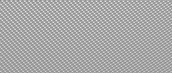 Steel texture in form grid. 3D render