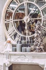 Décor de cheminée pour Noël