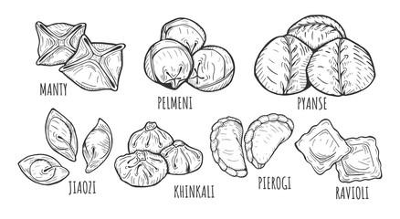 dumplings types and styles