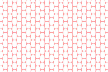 Retro pattern pink and white. Design for wallpaper, fabric, textile. Simple background