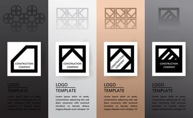 Set of logos.