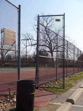 Entry to Tennis Court