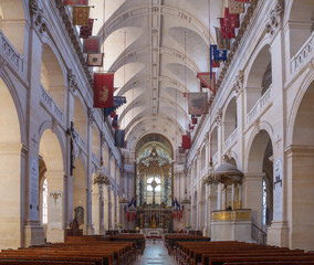 Interior of Cathedral of Saint-Louis des Invalides