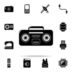 cassette player icon. Technology icons universal set for web and mobile