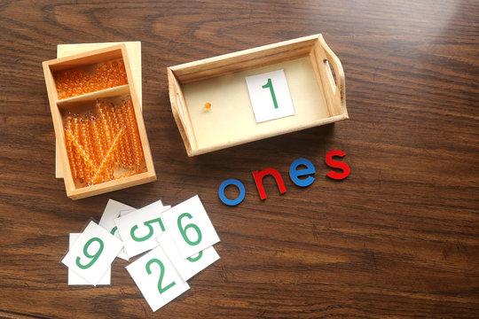 Montessori Ones Demonstration