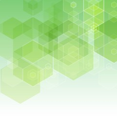 Abstract green background. vector illustraion. Picture for the desktop. banner. eps 10