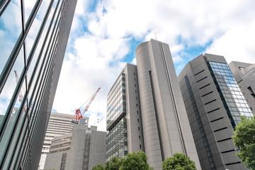 大阪梅田 ビジネス街の風景