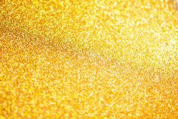 Golden christmas abstract background.