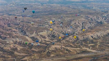 Wall Mural - Balloon ride in Capadocia, Turkey