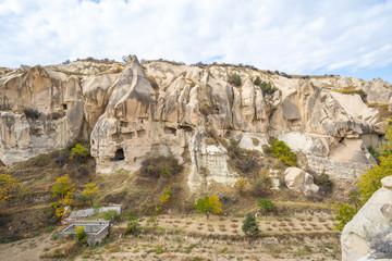 Wall Mural - View of rock mountain in Cappadocia, Turkey