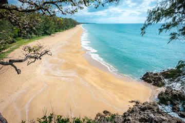 beach at  Phra Thong Island,Khao Lak ,Phang nga.