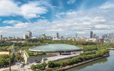 大阪市街地の風景