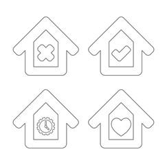 house check box icon