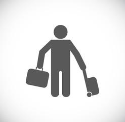 traveling passenger icon