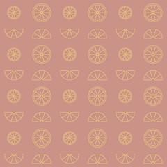 Zitrone Muster