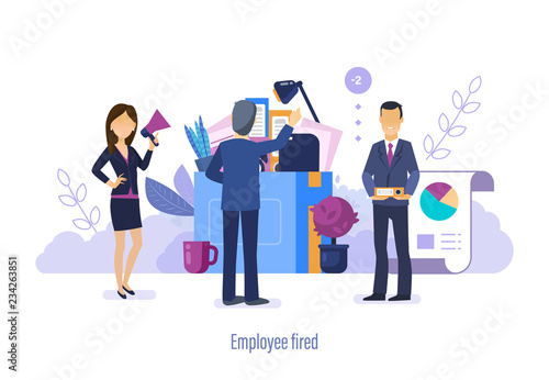 employee fired dismissal termination of working powers