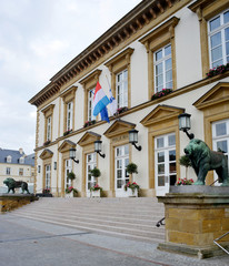 City Hall in Luxembourg Europe