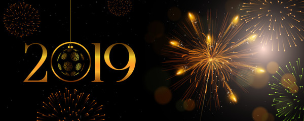 2019 Merry Christmas, New Year 2019
