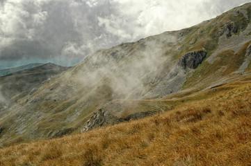 Hiking on the Mount Korab