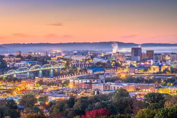 Fototapete - Memphis, Tennessee, USA Skyline