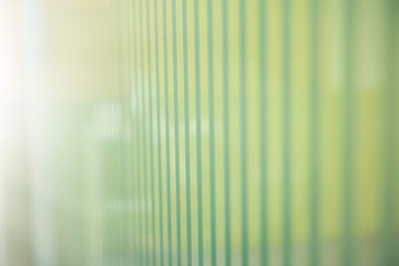 abstract background of green wall with vertical line