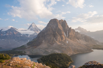 Hikes with views of Mount Assiniboine