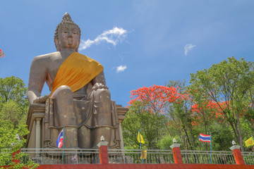 statue of buddha in Chonburi province ,Thailand