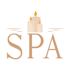 Abstract spa background