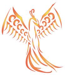 soaring Phoenix vector