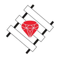 Wall Mural - ruby on rails programming framework vector concept