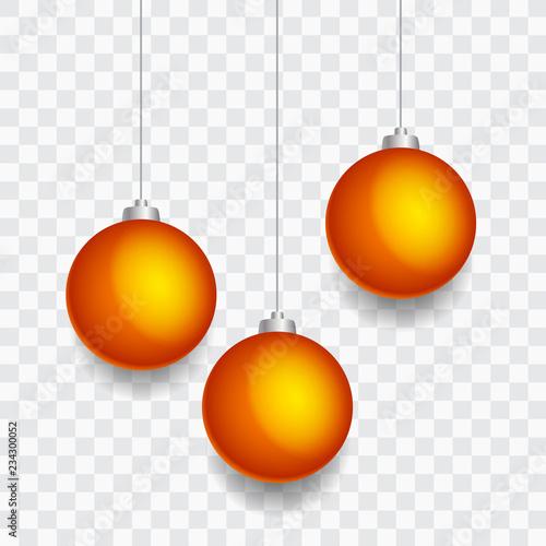 Goldene Weihnachtskugeln.Goldene Weihnachtskugeln Christbaumkugeln Transparenter