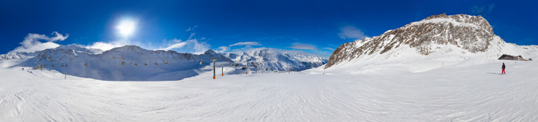 Wall Mural - Mountain ski resort Hochgurgl Austria