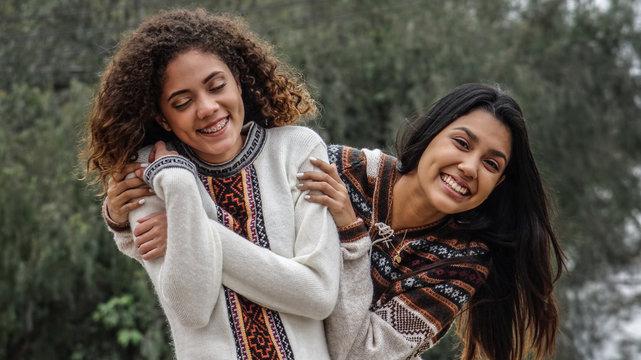 Close Friendship Among Teen Hispanic Girls
