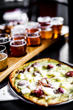 Pizza with Beer tasting