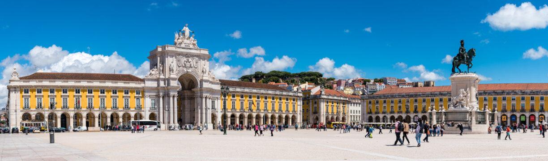 Praca do Comercio, Arco Rua Augusta, Jose I und Castelo de Sao Jorge