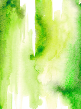 Watercolor lime green texture Watercolor stain
