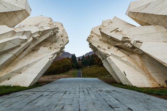 Tjentiste World War II monument,Sutjeska National Park, Bosnia and Herzegovina