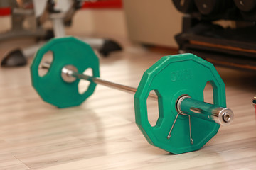 Gym Barbell fitness