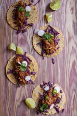 Several tacos